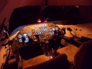 Learjet sim