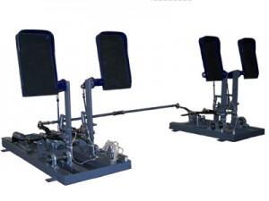 dual linked rudder pedals A320